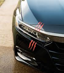 Headlight Scars Car Decals Stickers Decal Junky