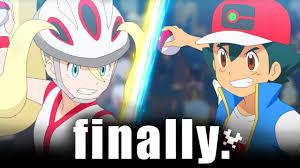 Ash vs Korrina: Pokemon Journeys REMATCH - YouTube
