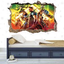3d John Cena Crack Poster Boys Kids Bedroom Wallpaper Decal Vinyl Sticker Art