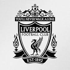 Amazon Com Wall Decal Liverpool Fc Logo Vinyl Decal Sticker Made In The Usa Custom Color Home Kitchen