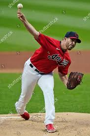 Cleveland Indians starting pitcher Aaron Civale delivers Editorial Stock  Photo - Stock Image | Shutterstock
