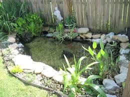Small Backyard Pond Against Fence Garden Pond Design Ponds Backyard Fish Pond Gardens