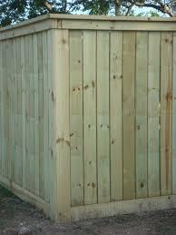 May 2011 200 Feet Of Fence Put Up Jeff Beavers Waco Tx