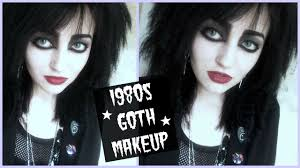 80s goth makeup tutorial you