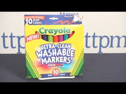 ultra clean washable markers colored