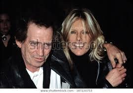 Keith Richards Patti Hansen Premiere Gosford Stock Photo (Edit Now ...
