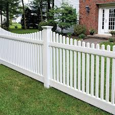 4 Ft H X 8 Ft W Laramie Scallop Panel Fence Panels Fence Design Garden Fence Panels