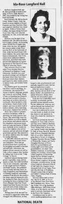 Ida Rose - Newspapers.com