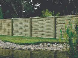 Premium Woven Fence Panels Stylish Design Estate Sawmills