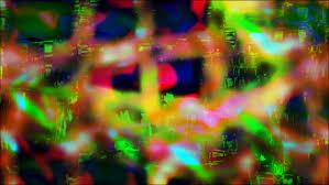 abstract trippy brightness