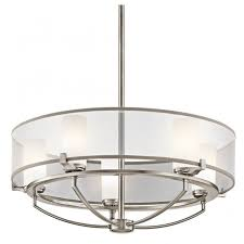 contemporary 5 light pendant chandelier