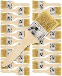 Amazon Com Us Art Supply 24 Pack Of 2 Inch Paint And Chip Paint Brushes For Paint Stains Varnishes Glues And Gesso