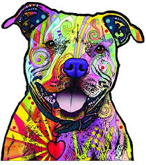 Amazon Com Enjoy It Dean Russo Pit Bull Car Sticker Outdoor Rated Vinyl Sticker Decal For Windows Bumpers Laptops Or Crafts Toys Games