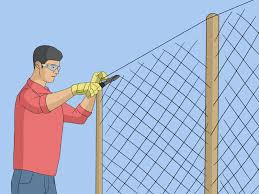 Easy Ways To Tie Net Wire Fence 13 Steps With Pictures