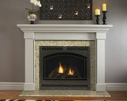 kenwood flush mantel traditional