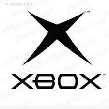 Xbox Original Logo Decal Vinyl Decal Sticker Wall Decal Decals Ground