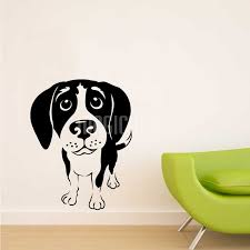 Wall Decals Beagle Dog Wall Stickers