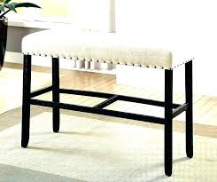 bar stool bench with back