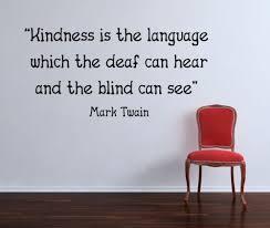 Kindness Language Beautiful Wall Decals