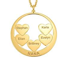 personalized disc necklaces solo mio