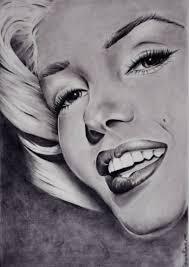 Marilyn Monroe Drawing by Adriana Holmes | Saatchi Art
