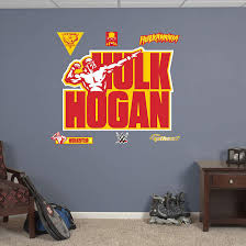 Fathead Wwe Hulk Hogan Logo Wall Graphic