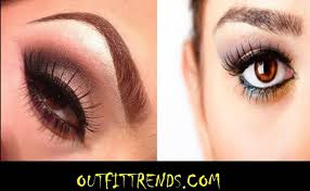stylish eye makeup ideas for brown eyes