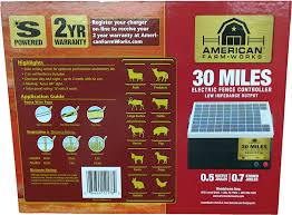 Amazon Com American Farmworks 30 Mile Solar Powered Low Impedance Charger Industrial Scientific