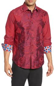 Lyons Hearted Limited Edition Classic Fit Sport Shirt In Red | Sports  shirts, Robert graham, Clothes