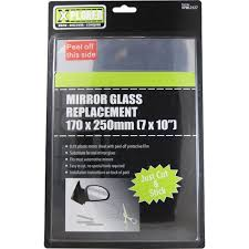 mirror glass replacement 170mm x 250mm