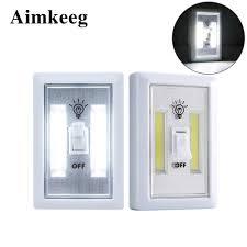 Từ tính COB LED Dán Tường Đèn Chiếu Sáng Ban Đêm Mới Lạ Đêm Đèn Không Dây  Dùng Pin Siêu Sáng Đèn Tủ Nhà Để Xe Phòng Ngủ|
