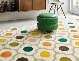 spot flower 60404 multi rug by orla kiely