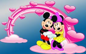 hd wallpaper mickey and minnie mouse