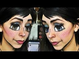 anime cartoon makeup tutorial