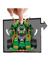 LEGO Ninjago 70641 Ninja Nightcrawler Car and Bike at John Lewis & Partners