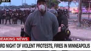 CNN reporter arrested live on air ...