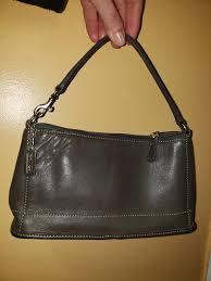 vintage coach 9311 bag small purse dark