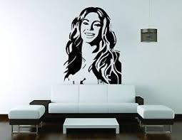 Beyonce Wall Mural Vinyl Decal Sticker Decor Singer Music Queen B Run World Girl Ebay