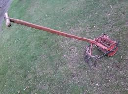 vintage antique garden plow cultivator