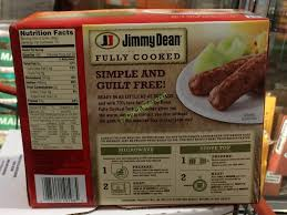 jimmy dean turkey sausage links 48