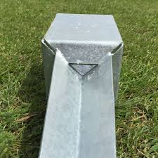 50mm Fence Post Spike 2 Hot Dip Galvanised Fence Post Support