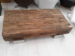 coffee table recycled timber w