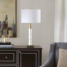 Shop Madison Park Signature Adeline White/ Gold Table Lamp - Free ...