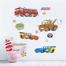 Super Deal 2f3a3 20 30cm Disney Cars Wall Decals Kids Rooms Home Decor Cartoon Lightning Mcqueen Wall Stickers Diy Mural Art Pvc Posters Cicig Co