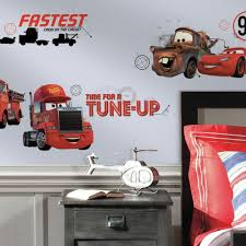 Disney Pixar Cars Friends To The Finish Wall Decals Roommates Decor