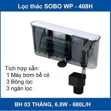 Lọc thác, máy lọc thác nước bể cá Sobo WP-408H ( 6.8W, 680L/H) cao ...