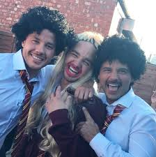 Adam Thomas shares hilarious pictures with his brothers from his ...