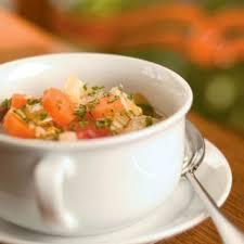 garden vegetable soup farm flavor