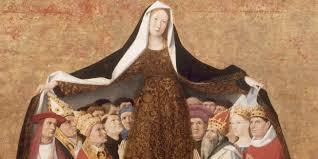 Ponte bajo el manto de la Virgen María con esta oración