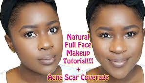 natural full face makeup tutorial for